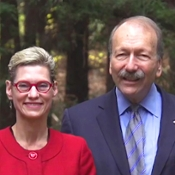 Photo of UCSC Chancellor and Campus Provost